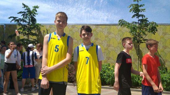 Участники команды от спортивной школы № 3, Краснодар, мальчики 2006 г.р.