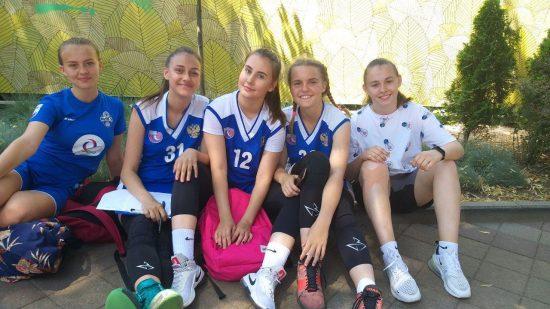 Команда «Элеонора», спортивная школа № 6, г. Краснодар, девочки 2003-2004 г.р.